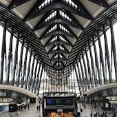 Железнодорожная станция  Lyon Saint Exupery Tgv