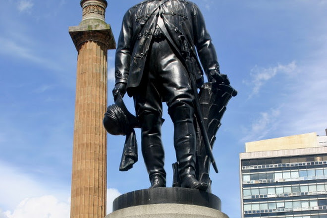 Field Marshall Lord Clyde Statue, Glasgow, United Kingdom
