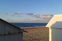 Plage de Courseulles sur mer, Courseulles-sur-Mer, France