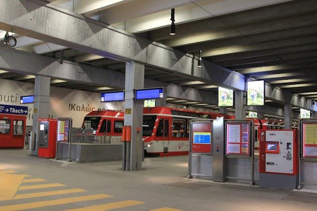 Bahnhof MGBahn Zermatt