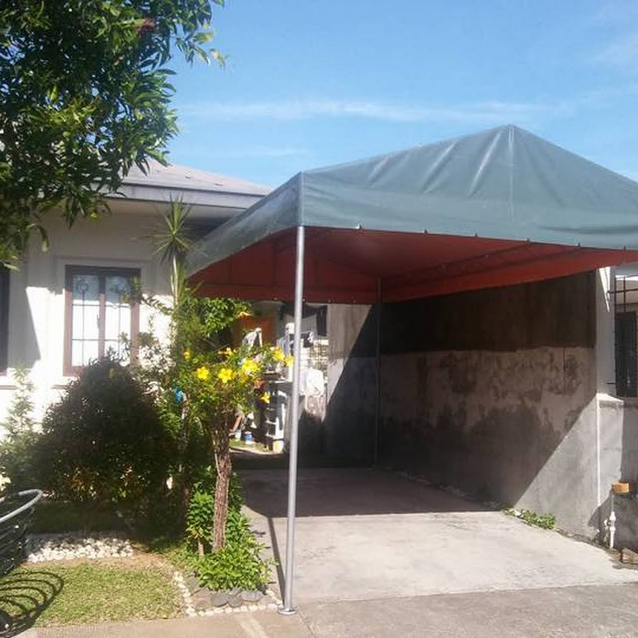 Jvs Trapal And Canopy Center Tent Rental Service And Fabricate Customize Car Garage Tent And Any Trapal Services In Davao City