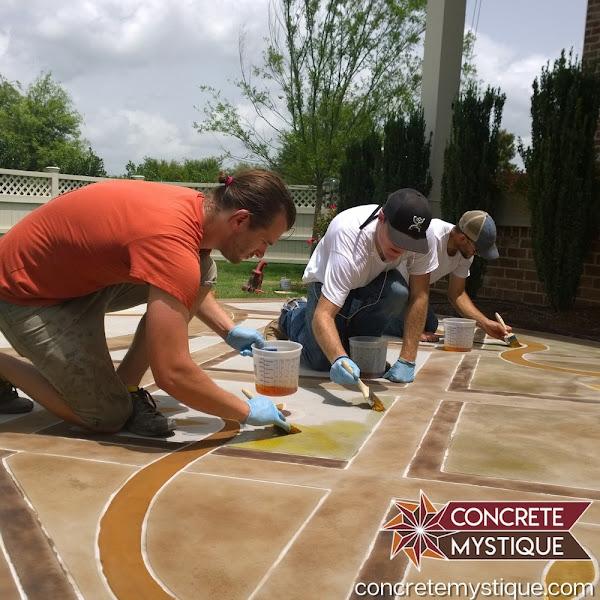Nashville Concrete Staining Contractors