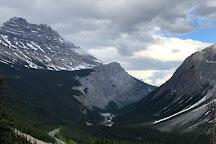 Sunwapta Pass, Alberta, Canada