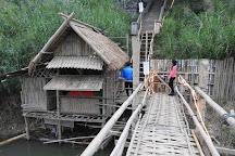 Bamboo Bridge, Luang Prabang, Laos