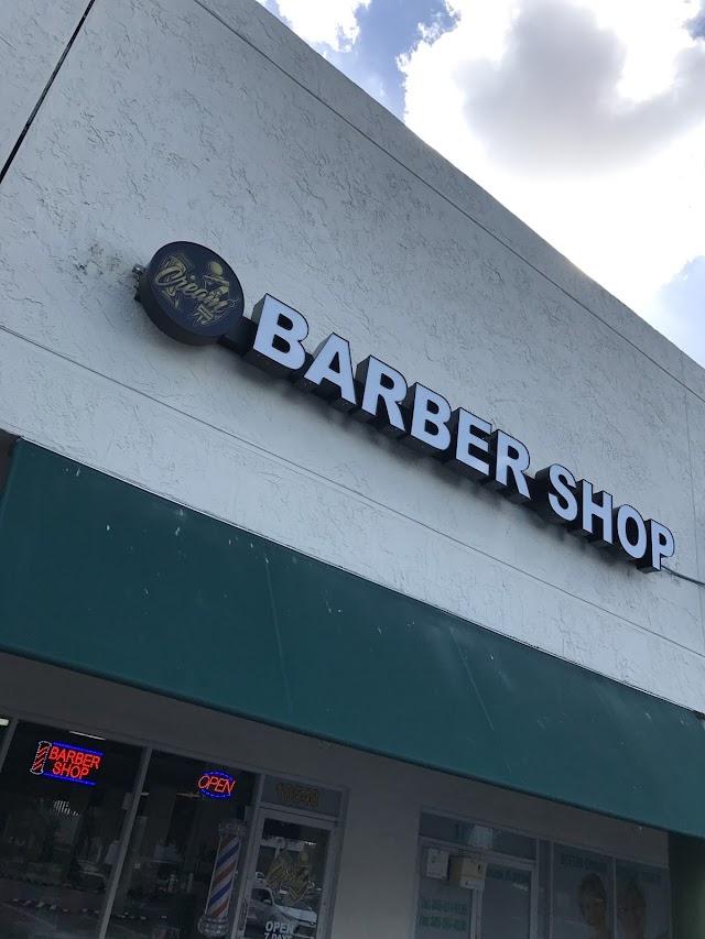 Cream Barber Shop