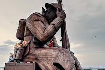 World War One Soldier Sculpture, Seaham, United Kingdom
