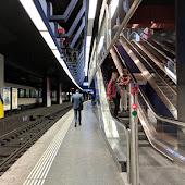 Станция  Zuerich Flughafen