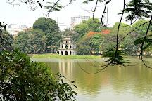 Lake of the Restored Sword (Hoan Kiem Lake), Hanoi, Vietnam
