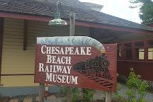 The Chesapeake Beach Railway Museum, Chesapeake Beach, United States