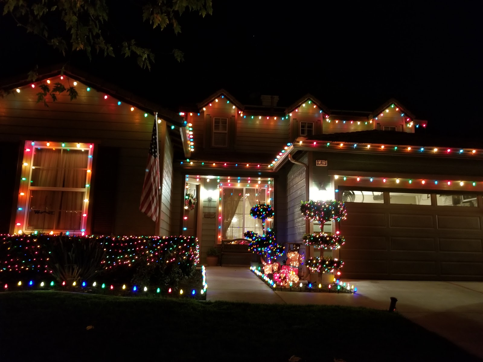 Yucaipa Christmas At Manning Street Map - Redlands, California ...