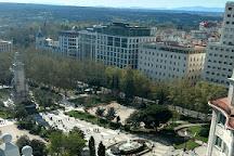 Plaza de Espana Madrid, Madrid, Spain