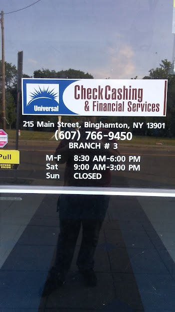 Universal Check Cashing Payday Loans Picture