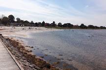 Bandholm strand, Bandholm, Denmark