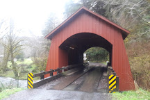North Fork Yachats Covered Bridge, Yachats, United States