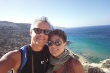 Red Sand Beach (Kokkini Ammos), Matala, Greece