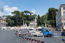 Fontana dei Leoni, Rome, Italy