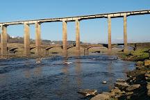 New Bridge and Bridge Vella, Portomarin, Spain