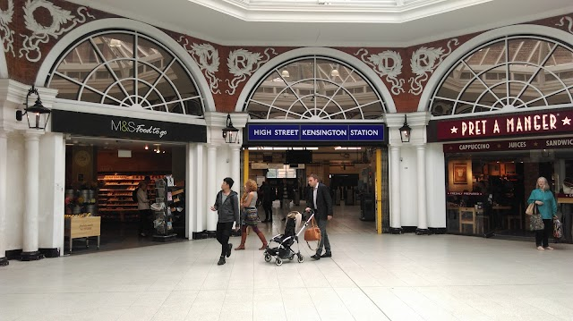 High Street Kensington London Underground Station