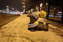 The statue of the Great Ho-ho-ho Horgasz's Chief Worm, Budapest, Hungary