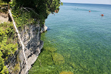 Cave Point County Park, Sturgeon Bay, United States