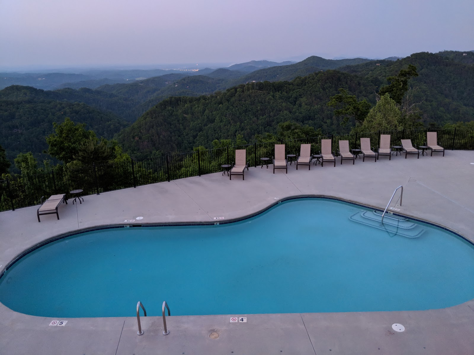 mountain top view too map - townsend, tennessee - mapcarta