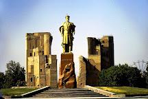Statue of Amir Timur, Shahrisabz, Uzbekistan