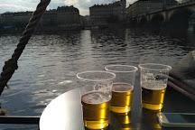 Captain Morgan boat, Prague, Czech Republic