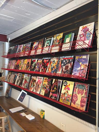 Comic Girl Coffee & Books