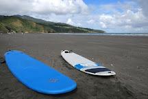 Ngarunui Beach, Raglan, New Zealand
