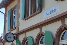 Kandertalbahn, Kandern, Germany