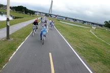 Erchong Floodway Cycling Route, Sanchong, Taiwan