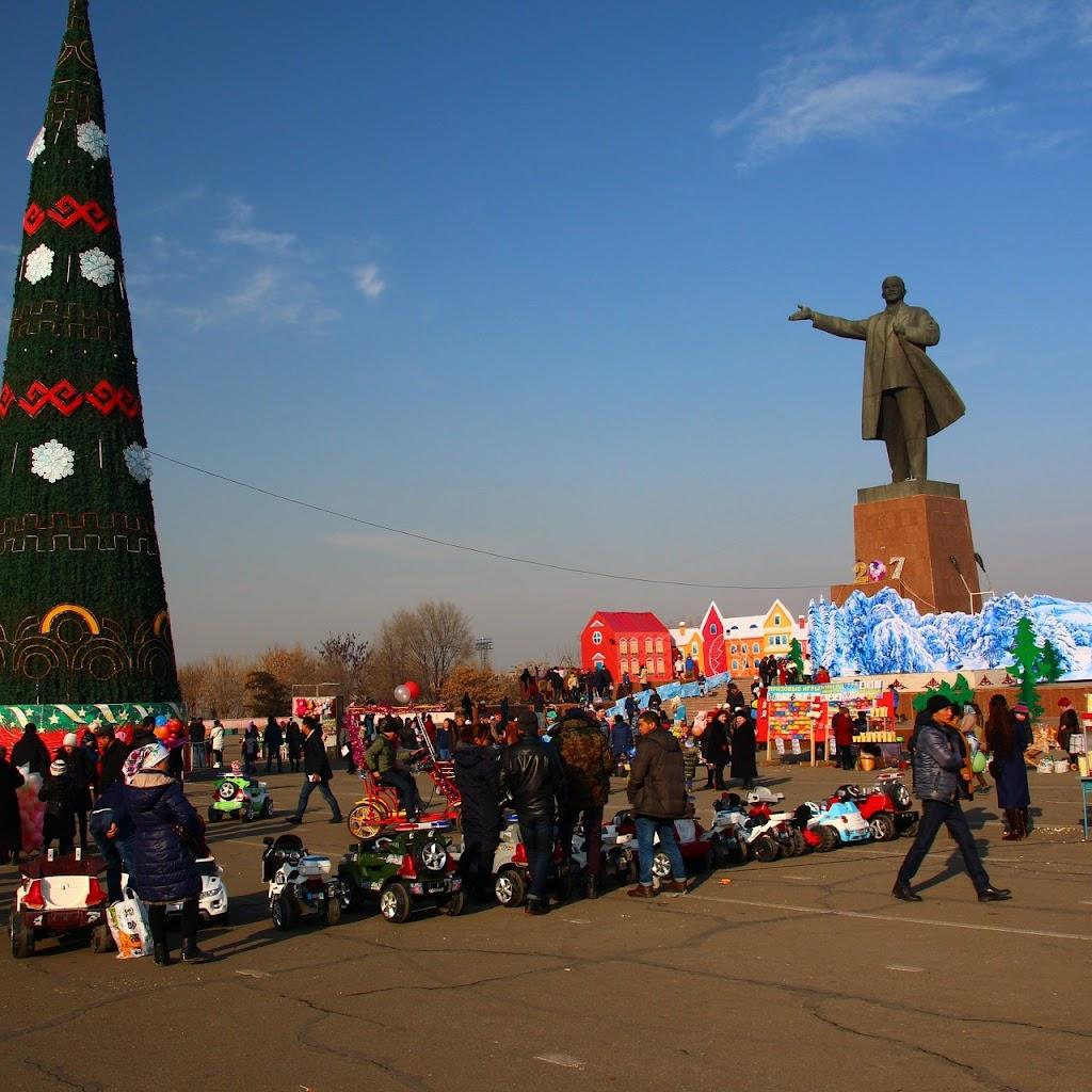 Фото город республиканского подчинения Ош: Памятник В.И. Ленину