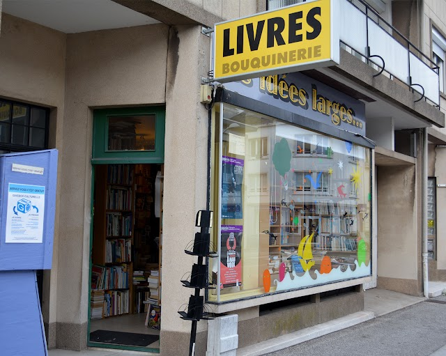 Les Idées Larges / Librairie / Ludovic Riou