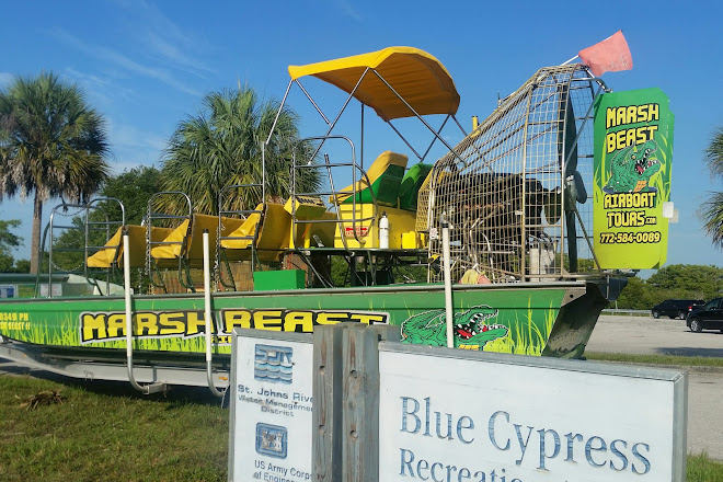 Visit Marsh Beast Airboat Tours On Your Trip To Vero Beach