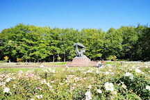 Chopin Monument, Warsaw, Poland