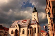 St. Mark's Church (Crkva sv. Marka), Zagreb, Croatia