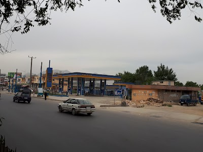 Opposite Silo Gas Station