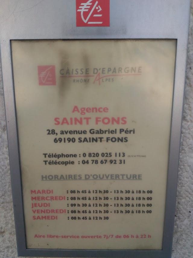 Caisse d'Epargne St Fons