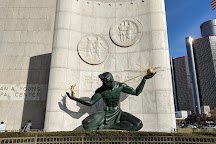 Monument to Joe Louis, Detroit, United States