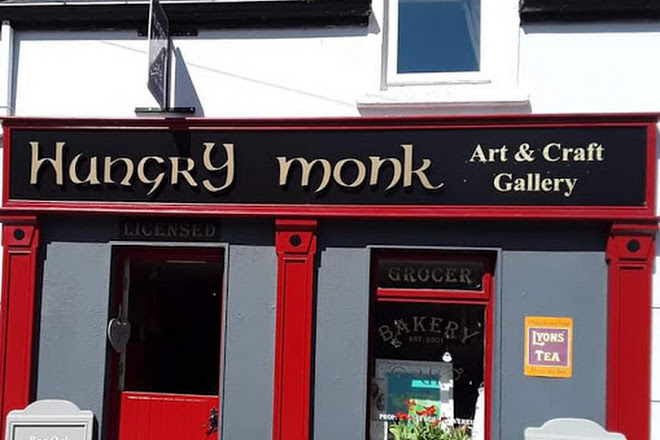 The Hungry Monk Art and Craft Gallery, Cong, Ireland