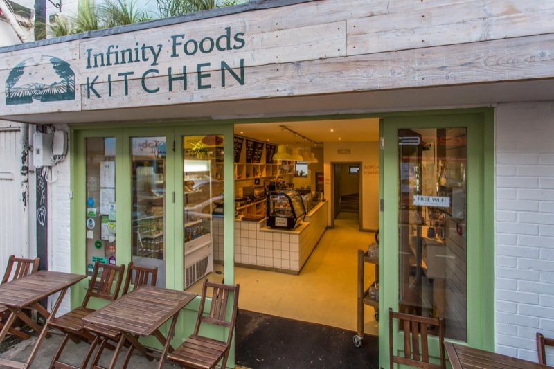 Infinity Foods Kitchen: A Work-Friendly Place in Brighton