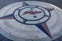 Vilnius compass, Vilnius, Lithuania