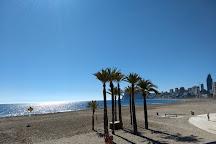 Playa de Levante, Benidorm, Spain