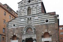 Piazza San Giusto, Lucca, Italy