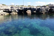 Grotta perciata, favignana, Isola di Favignana, Italy