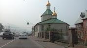 Приход трехсвятительского храма, Свердловская улица на фото Красноярска