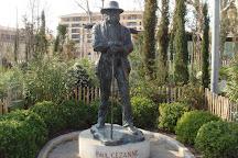 Statue of Paul Cezanne, Aix-en-Provence, France