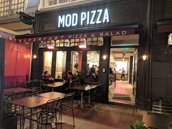 Mod Pizza Leicester Square 17 18 Irving St London Wc2h