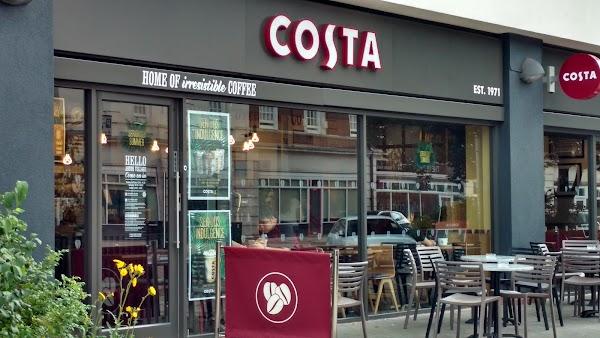 Costa Coffee 12 13 Aston St Birmingham B4 7da Uk