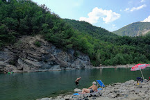 Berlina Beach, Bobbio, Italy